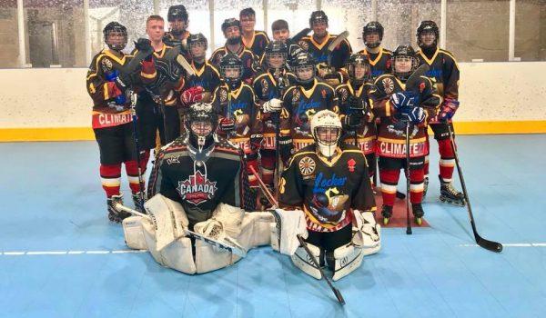 U17s team